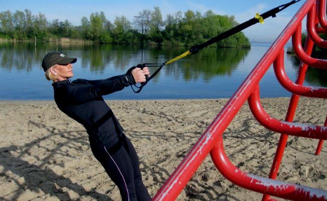 Ejercicios TRX para ejercitar todo el cuerpo