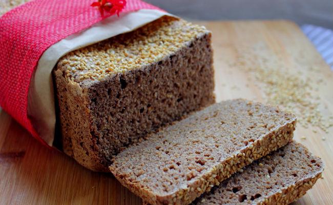 Tostada de pan integral
