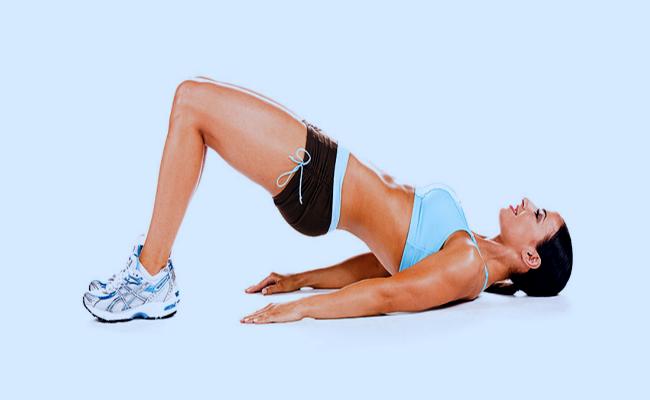 ejercicios puente de piernas