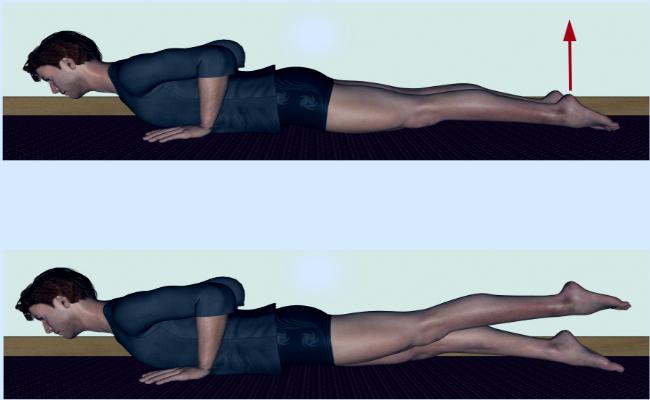 Extensión de piernas para los glúteos