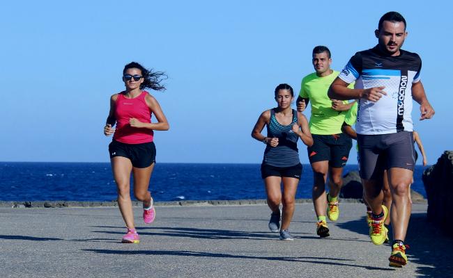 correr para hacer cintura más reducida