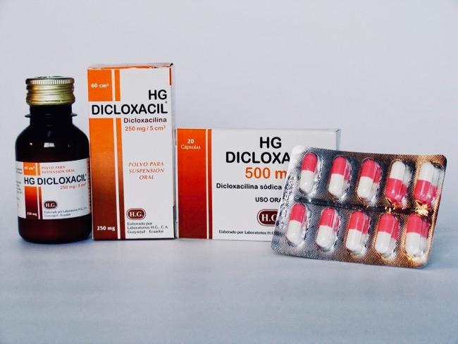 Para qué sirve la dicloxacilina