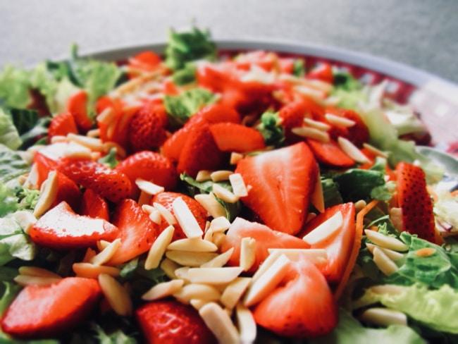 ensaladas para subir de peso