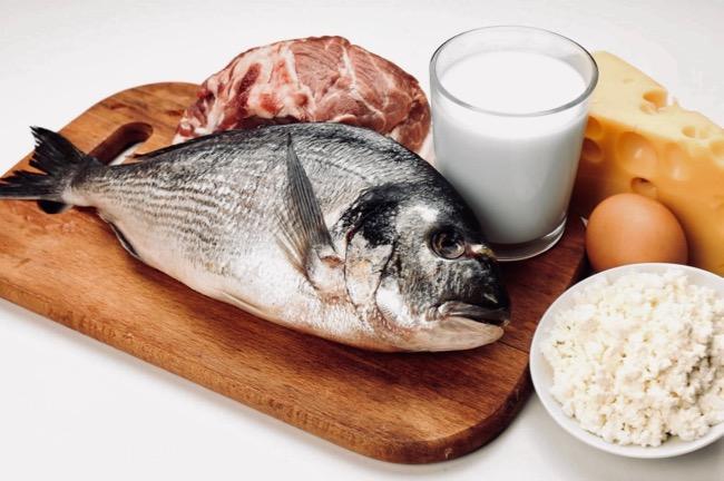 las proteínas en los alimentos