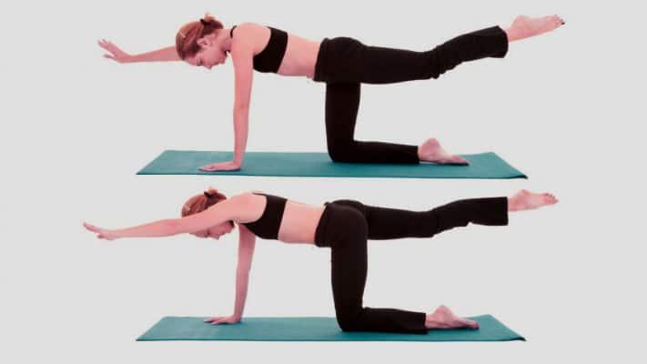 ejercicios para espalda en casa