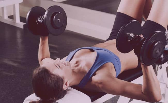 ejercicios para levantar pecho