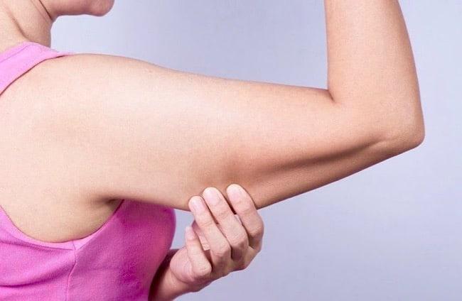 ejercicios para adelgazar los brazos.