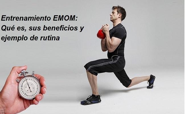ejercicios del entrenamiento EMOM