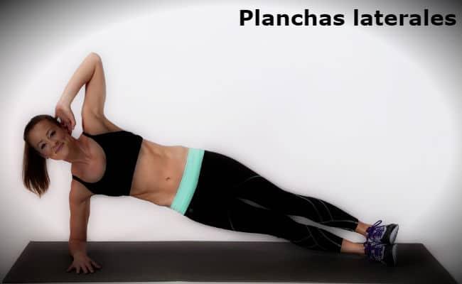 plancha ejercicio lateral